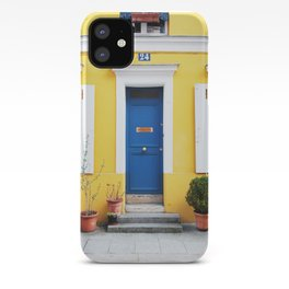 58. Yellow House, Paris iPhone Case