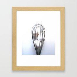 Whisk It Up Framed Art Print