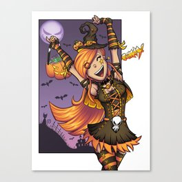 Halloween Candy! Canvas Print