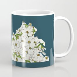 Virginia in Flowers Coffee Mug