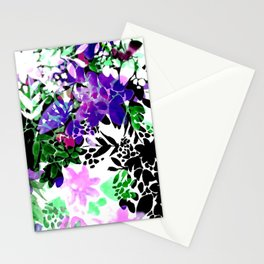 Painty Flowers Stationery Cards