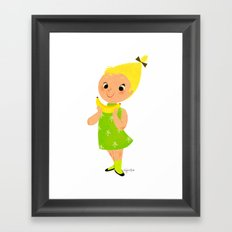 Banana Framed Art Print