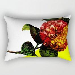 Vintage Bloom /Neon Wedge Rectangular Pillow