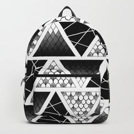 Zentangle Triangles Backpack