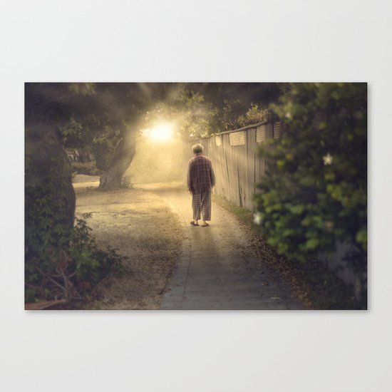 """It's time,"" he said. Canvas Print"