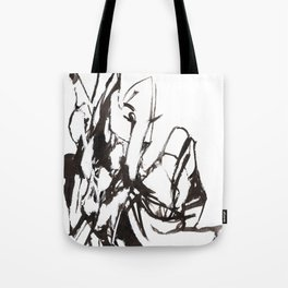 Figure Design Tote Bag