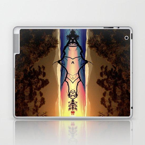 Marmalade Skies Laptop & iPad Skin