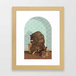 Tax Bear Framed Art Print