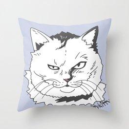 Kittykitty2 Throw Pillow