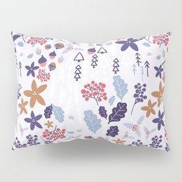 Winter Holiday Pattern Pillow Sham
