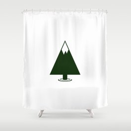 Pine Mountain Lake Shower Curtain