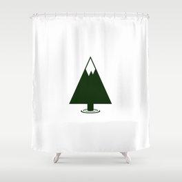Pine Mountain Lake Shower Curtain