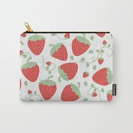 Strawberry Patch Carry-All Pouch