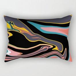 Marbleized 2 Rectangular Pillow