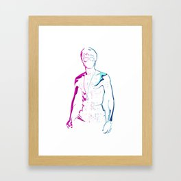 Be Water My Friend Cool Popular Pink Blue Style Unisex Best Gift T-Shirt & Merchandise Framed Art Print
