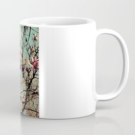 Pink Japanese Magnolia Tree in Flower Coffee Mug