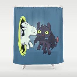 Kiss Fury Shower Curtain