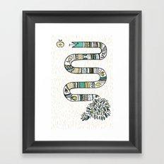 Snake fruit Framed Art Print