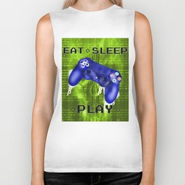 EAT.SLEEP.PLAY Biker Tank
