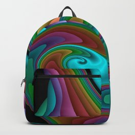 fractal squares -04- Backpack