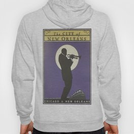 Vintage poster - City of New Orleans Hoody