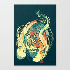 Astral Tiger Canvas Print