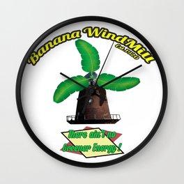Banana Energy Co. Wall Clock