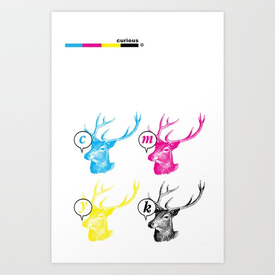 Unnatural Colors Art Print