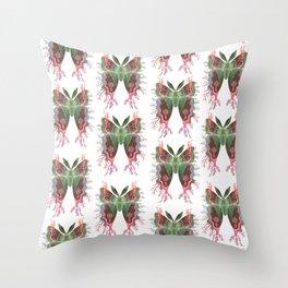 Saturnia danum orbis Throw Pillow
