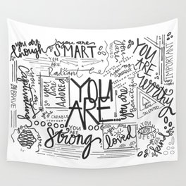 YOU ARE (IV- edition) Wall Tapestry
