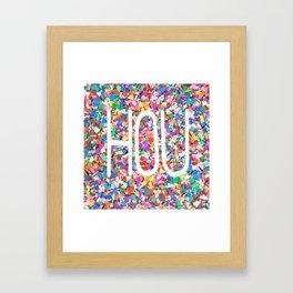 HOU Framed Art Print