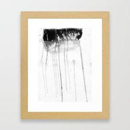 Rain etude Framed Art Print