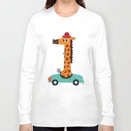 giraffe driver Long Sleeve T-shirt