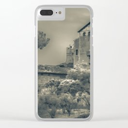 Rome Scene Photo Illustration Clear iPhone Case