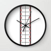 teeth Wall Clocks featuring Teeth by Dansparce