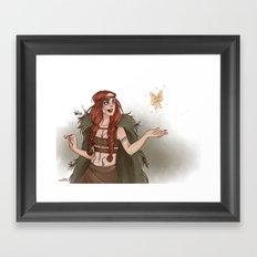 Druid Framed Art Print