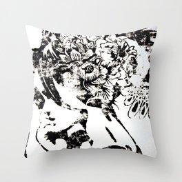 Hidden Spider Throw Pillow