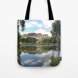 Potala Palace Tibet Tote Bag
