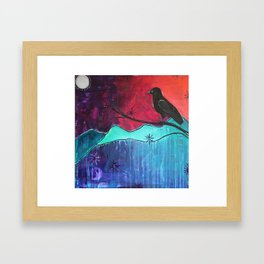 """""""Manifest"""" Original painting by Carly Mojica Framed Art Print"""