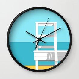 Summer Beach 01A Wall Clock