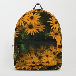 Brown eyed Susans Backpack