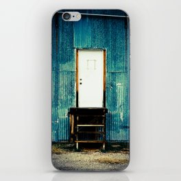 Single and White iPhone Skin