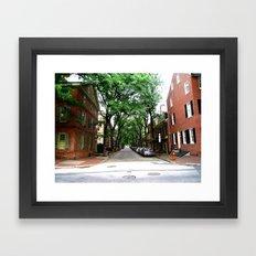 Olde City Framed Art Print