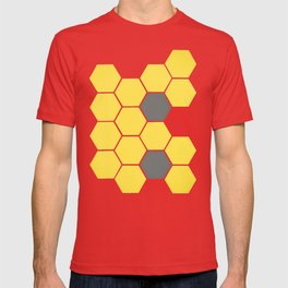 Yellow Honeycomb T-shirt