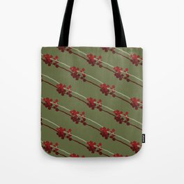 Winter Berries Tote Bag