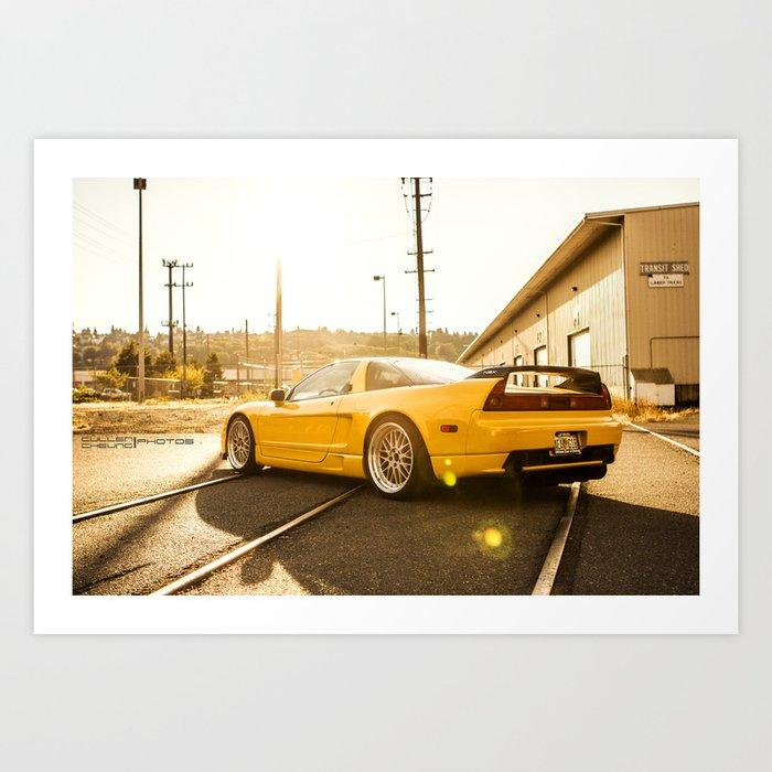 NSX  Art Print