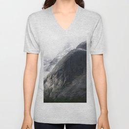 Mountain landscape #norway Unisex V-Neck