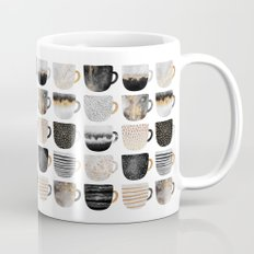 Pretty Coffe Cups 3 - White Mug