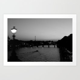 Midnight in Paris Art Print