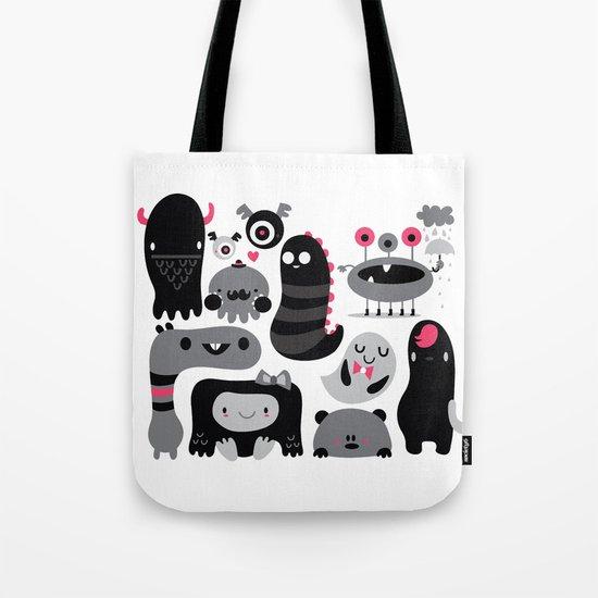 Monstruos Tote Bag